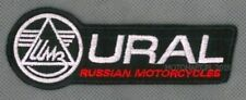 Ural Russian Motorycles toppa ricamata termoadesivo iron-on patch Aufnäher