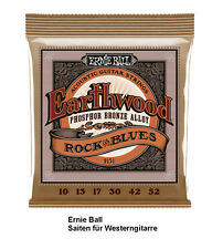 Ernie Ball Earthwood Phosphor Bronze EB2151 10-52 Saitensatz für Westerngitarre