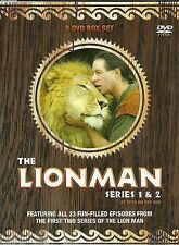 THE LION MAN SERIES 1 & 2 - FEATURING ALL 23 EPISODES LIONMAN -  8 DVD BOX SET