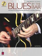 BLUES BY THE BAR GUITAR tab book with cd CHRIS HUNT (PAPERBACK)