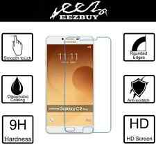 9H Real Tempered Clear Glass Screen Protector For Samsung Galaxy C9 C9000 C9 Pro