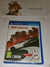 Need for speed most wanted PSV neuf scellé uk pal PlayStation Vita PS Vita