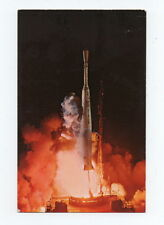 Delta #11 Rocket Ship Vintage Post Card NASA Kennedy Space Center Telstar 1