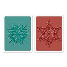 "Sizzix/Hero Arts ""Snowflakes Embossing Set"" *New*"