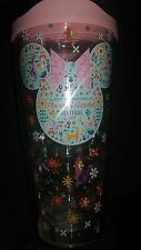 NEW Disney Epcot Flower And Garden 2017 Tervis Tumbler Minnie Bow Figment 24 OZ