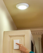 Wireless LED Light with Switch ceiling wall flush design A23 battery hallways