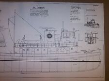 EIRE tug paterson ship boat model boat plans