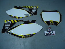 YAMAHA YZF250/450 2006/2009 Arma Energy White background set 70430BG