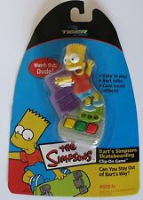 Simpsons BART SIMPSON Skateboarding Clip-on Game Tiger Hasbro 2002 NEW Sealed