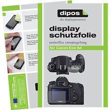 6x dipos Canon EOS 6D Schutzfolie matt Displayschutzfolie Antireflex Testsieger
