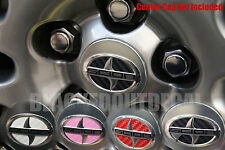 (05-2011) Scion TC Wheel Center Cap Decals Carbon Fiber sticker vinyl rim emblem