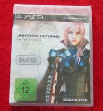 Final Fantasy XIII 13 Lightning Returns Limited Edition, PlayStation 3 Spiel Neu
