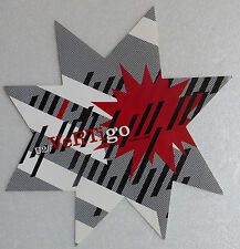 U2 STICKER VERTIGO ETOILE FAN CLUB PROMO