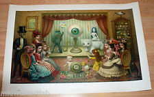 Mark Ryden The Parlor Gay 90s Lithograph Art Print Poster S/# of 500 w/ COA Low#