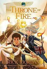 Kane Chronicles, The, Book Two The Throne of Fire: The Graphic Novel