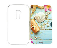 CUSTODIA FLIP COVER CALAMITA CONCHIGLIE ASSI PER LG OPTIMUS G2 MINI D620