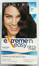 Clairol Nice'n Easy Extreme-n-Easy Hair Colour - Deep Violet 3RV - Brand New