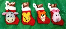 KNITTING PATTERN - Winnie the Pooh inspired Christmas stocking tree decoration