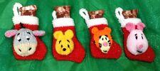 Knitting Pattern-WINNIE THE POOH Albero di Natale Calza ispirato Decorazione
