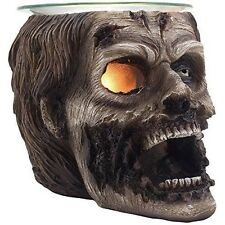 Evil Undead Zombie Head Electric Oil Warmer or Wax and Tart Burner for Scary ...