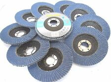 115mm 36 grit zirconium flap disc pack de 10 meule rouille removal tz AB153