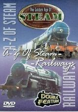 A-Z OF STEAM RAILWAYS - TWO PROGRAMMES ON ONE RAILWAY  DVD - FREE POST IN UK