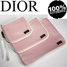 100%AUTHENTIC Exclusive DIOR COUTURE BEAUTY Large~Medium~Small TRIO CASE BAG SET