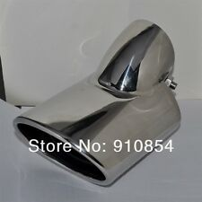 Chrome Exhaust Muffler TIP End Pipe For Subaru Outback 2010 - 2013