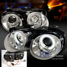 1998-2001 Acura Integra JDM Halo Projector Headlights Chrome