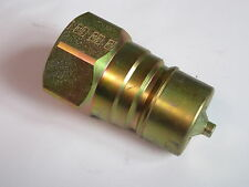"1/4"" ISO A Quick Release Coupling BSP Male Adaptor Fitting Hydraulic #24A121"