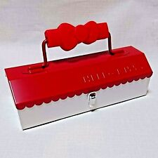 Made in Japan Hello Kitty Tool Box Cosmetic Box Storage SANRIO House Design