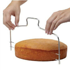 Adjustable Wire Cake Slicer Leveler Bread Dough Cutter Trimmer Stainless steel