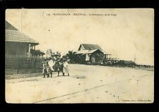 South Africa France Madagascar MAJUNGA Restaurant de la Plage c1920s? PPC