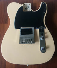 Double Bound Custom White Loaded Body Vintage 60s Style Fender Telecaster Parts