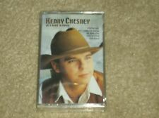 "Kenny Chesney  ""All I Need To Know"" (Country) cassette tape NEW. Buy 5= free s&h"