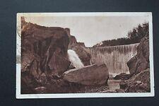 Carte postale ancienne CPA LANGOGNE - Gorges de l'Allier - Le Barrage électrique