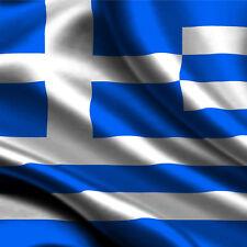 Bandiera GRECIA cm 90x140  poliestere con laccetti per asta