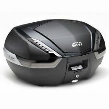 GIVI V47NNT Monokey Top case - Tech Flat Black with carbon pattern finishing