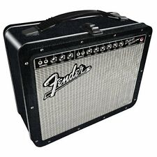 FENDER AMP METAL LUNCHBOX lunch box tin bag carry storage case OFFICIAL