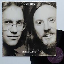 """Vinyle 33T America  """"Silent letter"""""""