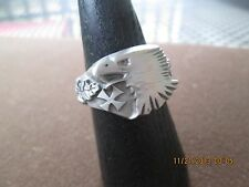 rare wwii sniper eagle, iron knight cross, sharpshooter award ring will/size