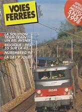 VOIES FERREES N°106 TRAM-TRAIN / BELGIQUE : DES 55 SUR LA 42 / 141 P JOUEF