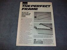 1962-67 Chevy II Nova How-To Tech info Article Replacing Window Frames