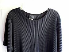 Women's Pull Over Shirt Top By You Nique 1X Black