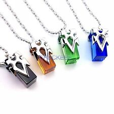 Sword Art Online Teleportation Crystal Necklace Cosplay Accessories 4pcs/set