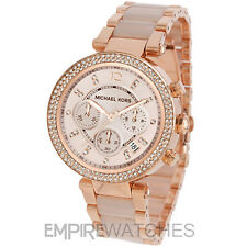 *NEW* MICHAEL KORS LADIES PARKER ROSE GOLD WATCH - MK5896 - RRP £229