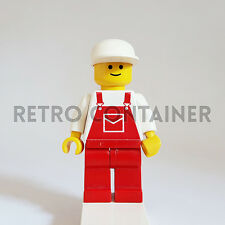 LEGO Minifigures - 1x ovr006 - Construction Worker - Omino Minifig Set 1489 6349