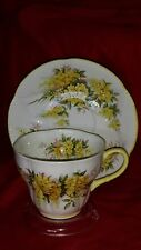 VINTAGE ROYAL ALBERT BLOSSOM TIME SERIES CUP AND SAUCER RARE LABURNUM NR BLOSSOM