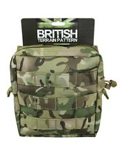NEW - Medium MOLLE MTP Compatible Zipped Utility Pouch - Kombat