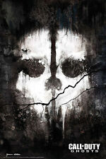 Call of Duty Ghosts - Skull - COD - Game Poster #B
